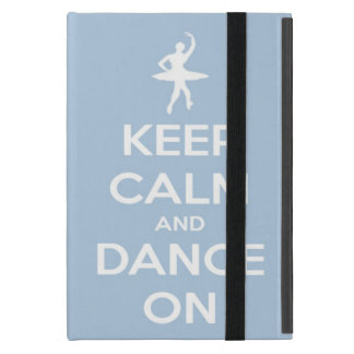 Keep Calm and Dance On Light Blue Cover For iPad Mini