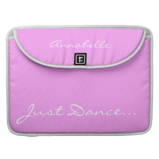 Keep Calm and Dance On Pink Sleeve For MacBook Pro