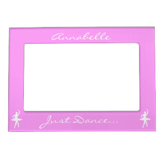 Keep Calm and Dance On Pink Magnetic Photo Frame
