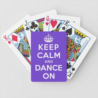Keep Calm and Dance On Card Deck