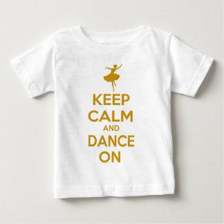 Keep Calm and Dance On T Shirt