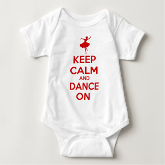 Keep Calm and Dance On Tee Shirt