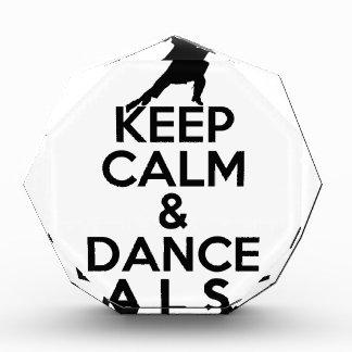 KEEP CALM AND DANCE SALSA gift