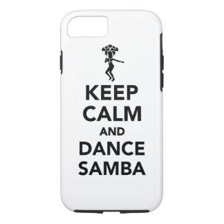 Keep calm and dance Samba iPhone 8/7 Case