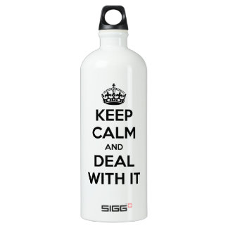 Keep Calm and Deal With It SIGG Traveler 1.0L Water Bottle