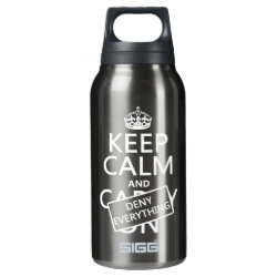 SIGG Thermo Bottle (0.5L) with Keep Calm and Deny Everything design