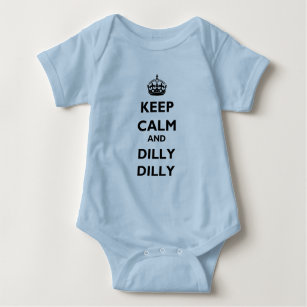 1ed6da915 Keep Calm and Dilly Dilly Baby Jersey Lt Bodysuit
