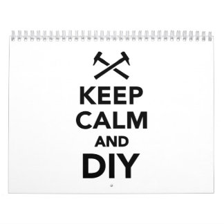 Keep calm and DIY Calendar