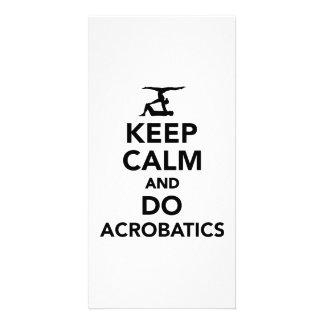 Keep calm and do Acrobatics Card
