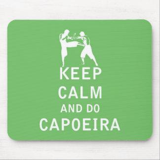 Keep Calm and Do Capoeira Mouse Pad