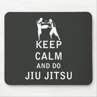 Keep Calm and Do Jiu-Jitsu Mouse Pad