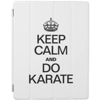 KEEP CALM AND DO KARATE.ai iPad Cover