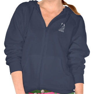 Keep Calm and Do Kenpo Hooded Sweatshirts