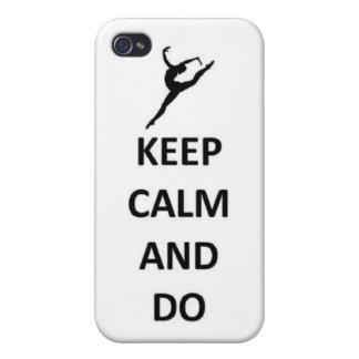 keep calm and do Kip iPhone 4 Cases