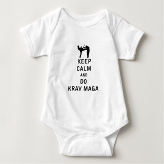 Keep Calm and Do Krav Maga Infant Creeper