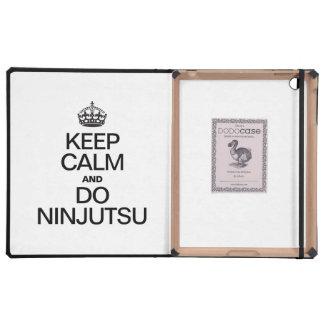 KEEP CALM AND DO NINJUTSU CASES FOR iPad