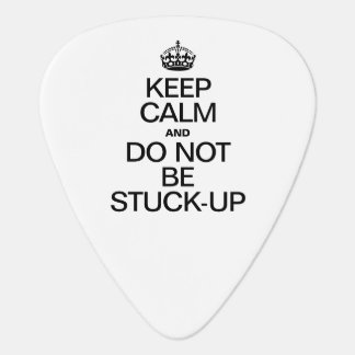 KEEP CALM AND DO NOT BE STUCK UP PICK