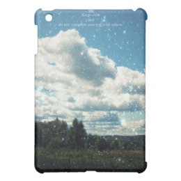 Keep Calm and do not Compare Yourself with Others iPad Mini Covers