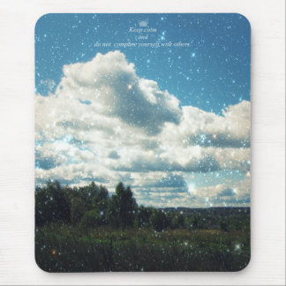 Keep Calm and do not Compare Yourself with Others Mouse Pad