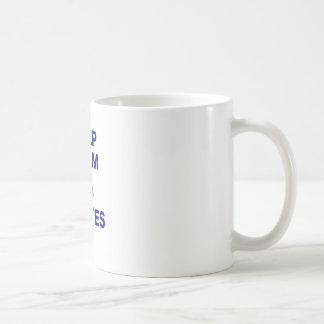 Keep Calm and Do Pilates Classic White Coffee Mug