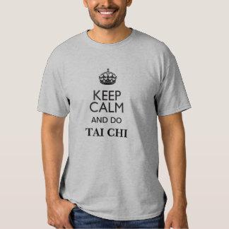 Keep Calm and do Tai Chi T Shirt