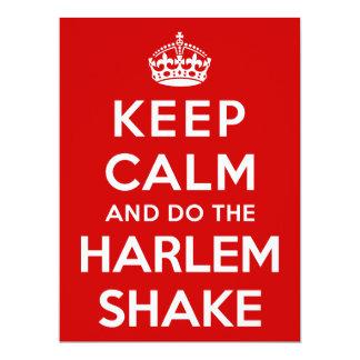 Keep Calm and do the Harlem Shake Card