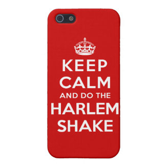 Keep Calm and do the Harlem Shake Case For iPhone SE/5/5s