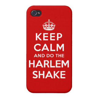 Keep Calm and do the Harlem Shake iPhone 4/4S Cover