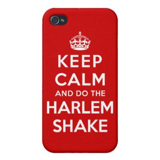 Keep Calm and do the Harlem Shake iPhone 4 Case