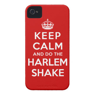 Keep Calm and do the Harlem Shake iPhone 4 Case-Mate Case