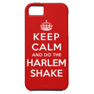 Keep Calm and do the Harlem Shake iPhone SE/5/5s Case