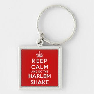 Keep Calm and do the Harlem Shake Key Chains