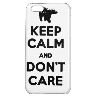 keep calm and dont care honey badger phone case iPhone 5C cases