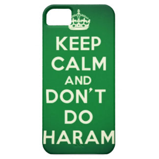 Keep Calm and Don't Do Haram iPhone 5 iPhone SE/5/5s Case