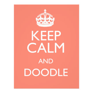 KEEP CALM AND DOODLE FLYER