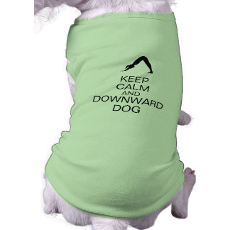 Keep Calm and Downward Dog T-Shirt
