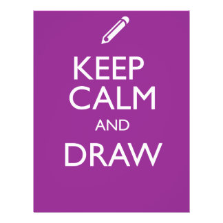 KEEP CALM AND DRAW FLYER