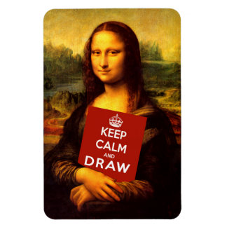 Keep Calm And Draw Magnet