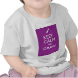 KEEP CALM AND DRAW SHIRT