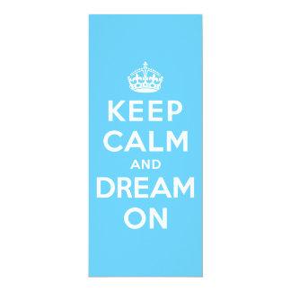 Keep Calm and Dream On Card