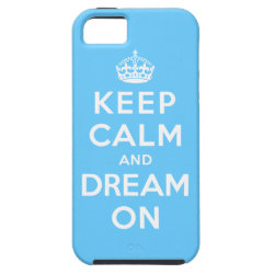Case-Mate Vibe iPhone 5 Case with Keep Calm and Dream On design