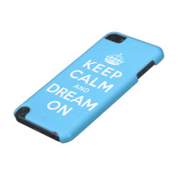 Case-Mate Barely There 5th Generation iPod Touch Case with Keep Calm and Dream On design