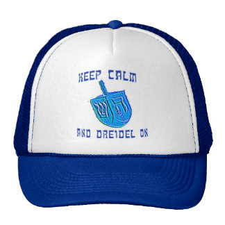 Keep Calm...and Dreidel On Trucker Hat