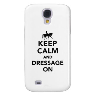 Keep calm and dressage on samsung s4 case