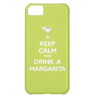 Keep Calm and Drink A Margarita (citrus) Cover For iPhone 5C