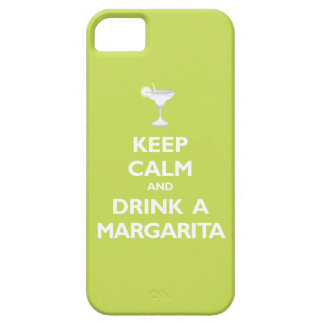 Keep Calm and Drink A Margarita (citrus) iPhone SE/5/5s Case