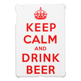 Keep Calm and Drink Beer Cover For The iPad Mini