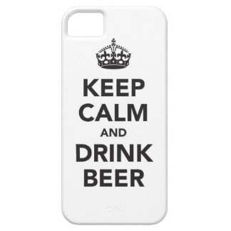 Keep Calm and Drink Beer iPhone SE/5/5s Case