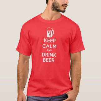 Keep Calm and Drink Beer men's tee