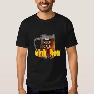 Keep Calm and drink beer Oktoberfest Tees